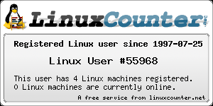 Linux registered user 55968