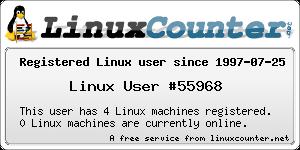 Linux registered user 55968